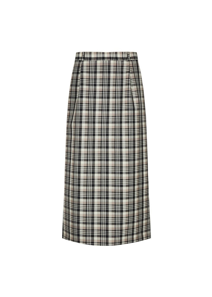 EDWARD CRUTCHLEY _ Long Skirt Check
