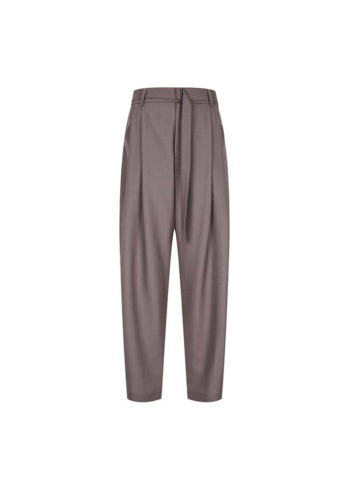 EDWARD CRUTCHLEY _ Pleat Front Trousers