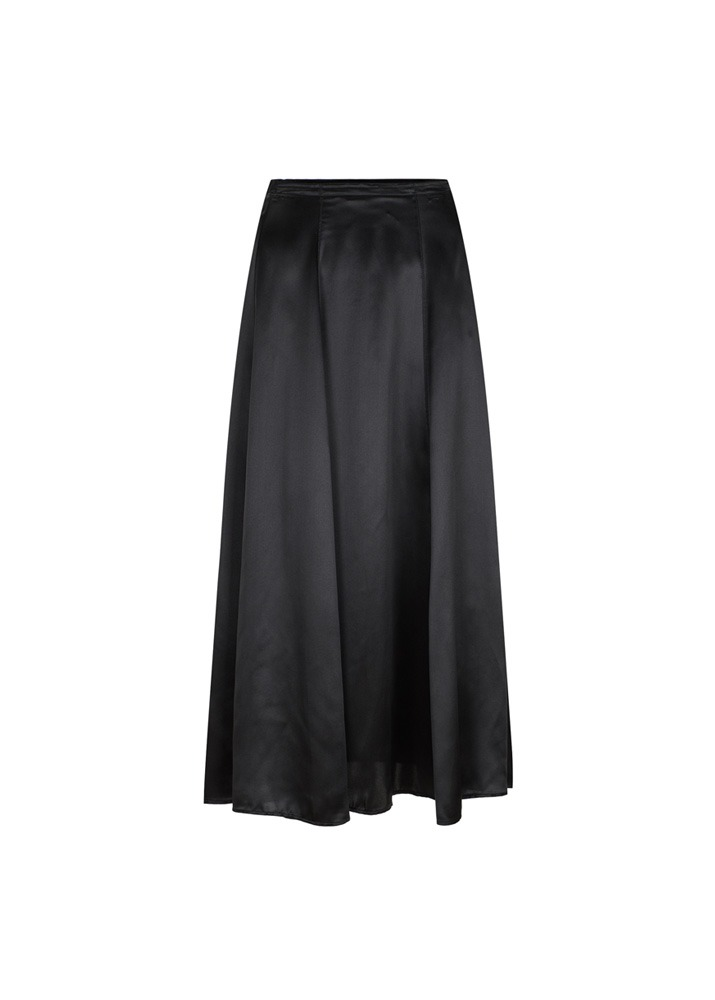 FORTE FORTE _ Silk Satin Skirt