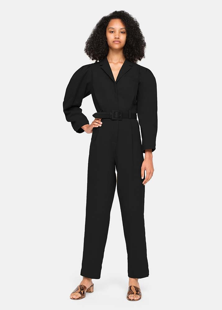 SEA NY _ Marianne L/S Jumpsuit
