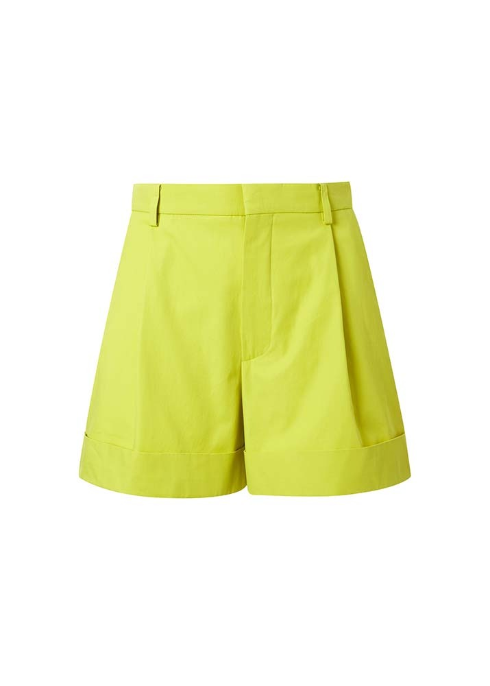 SOFIE D'HOORE _ Shorts With Turn-up And Side Pockets